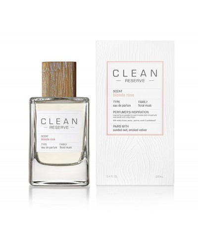 CLEAN RESERVE® BLONDE ROSE EDP 100 ML